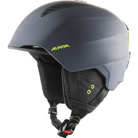 Alpina Grand Skihelm charcoal/neon matt